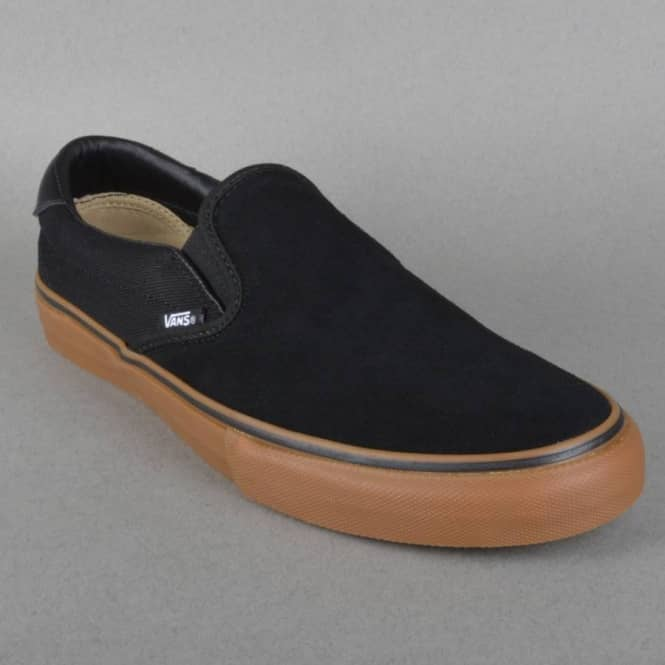 f6add5e4cc3 Vans Slip On 59 Pro Skate Shoes - Anti Hero Black Allen - SKATE ...