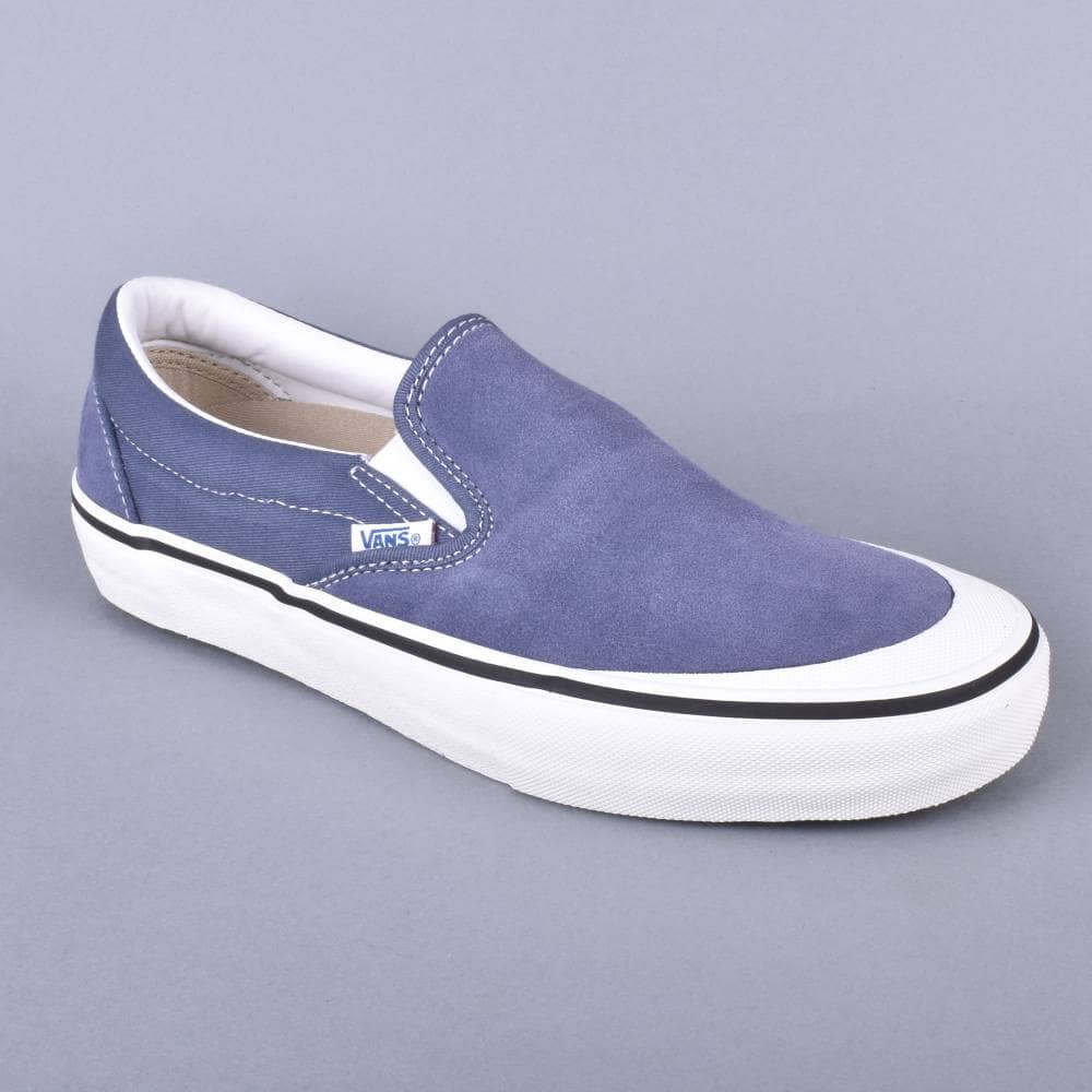 c80765adbd Vans Slip-On Pro Skate Shoes - (Retro) Grisaille - SKATE SHOES from ...