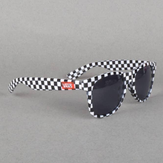 6a218a724de Vans Spicoli 4 Sunglasses - Black Checkerboard - ACCESSORIES from ...