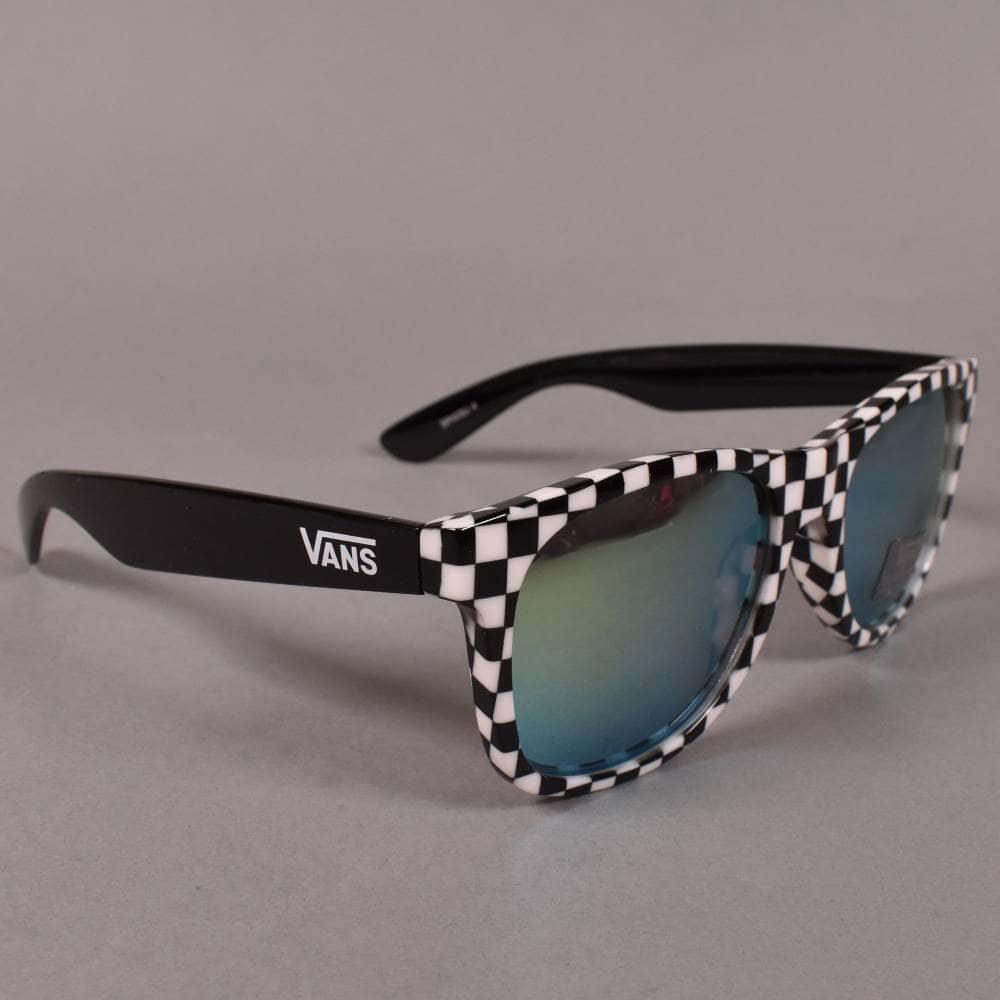 9cac2fac5bf Vans Spicoli 4 Sunglasses - Black/White Checkerboard - ACCESSORIES ...