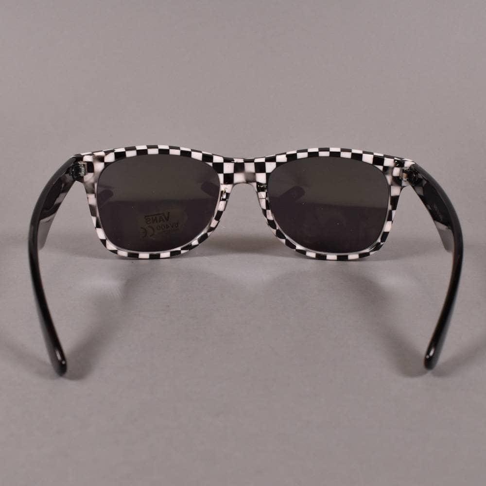 8eda674ca5 Vans Spicoli 4 Sunglasses - Black White Checkerboard - ACCESSORIES ...