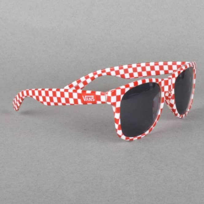 Vans Spicoli 4 Sunglasses - Chilli Pepper Checkerboard - ACCESSORIES ... 229079f3ce