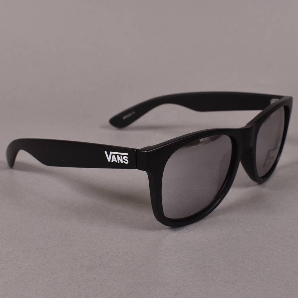 3fd8b077d6 Vans Spicoli 4 Sunglasses - Matte Black Silver Mirror - ACCESSORIES ...