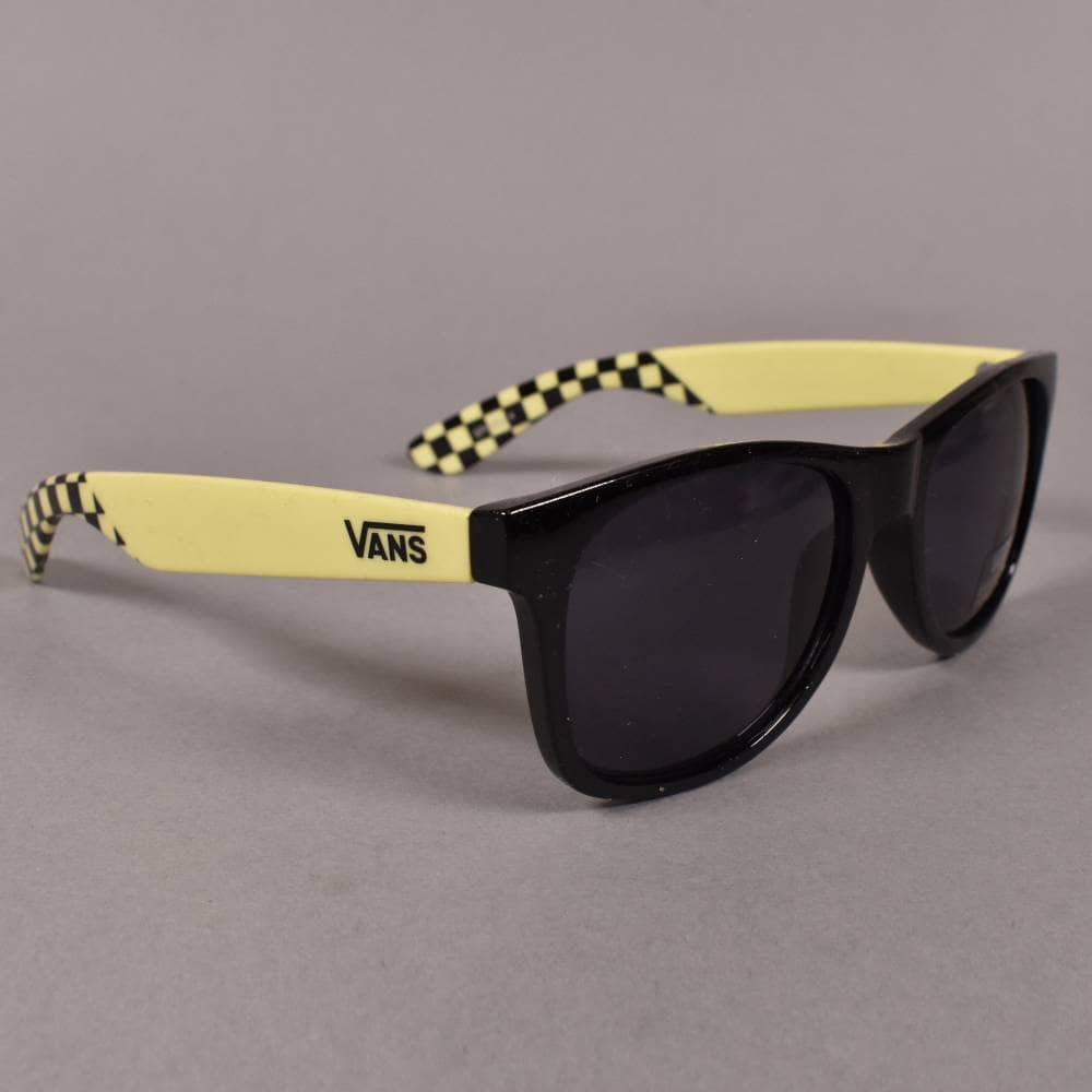 db3f74c330 Vans Spicoli 4 Sunglasses - Sunny Lime Black - ACCESSORIES from ...