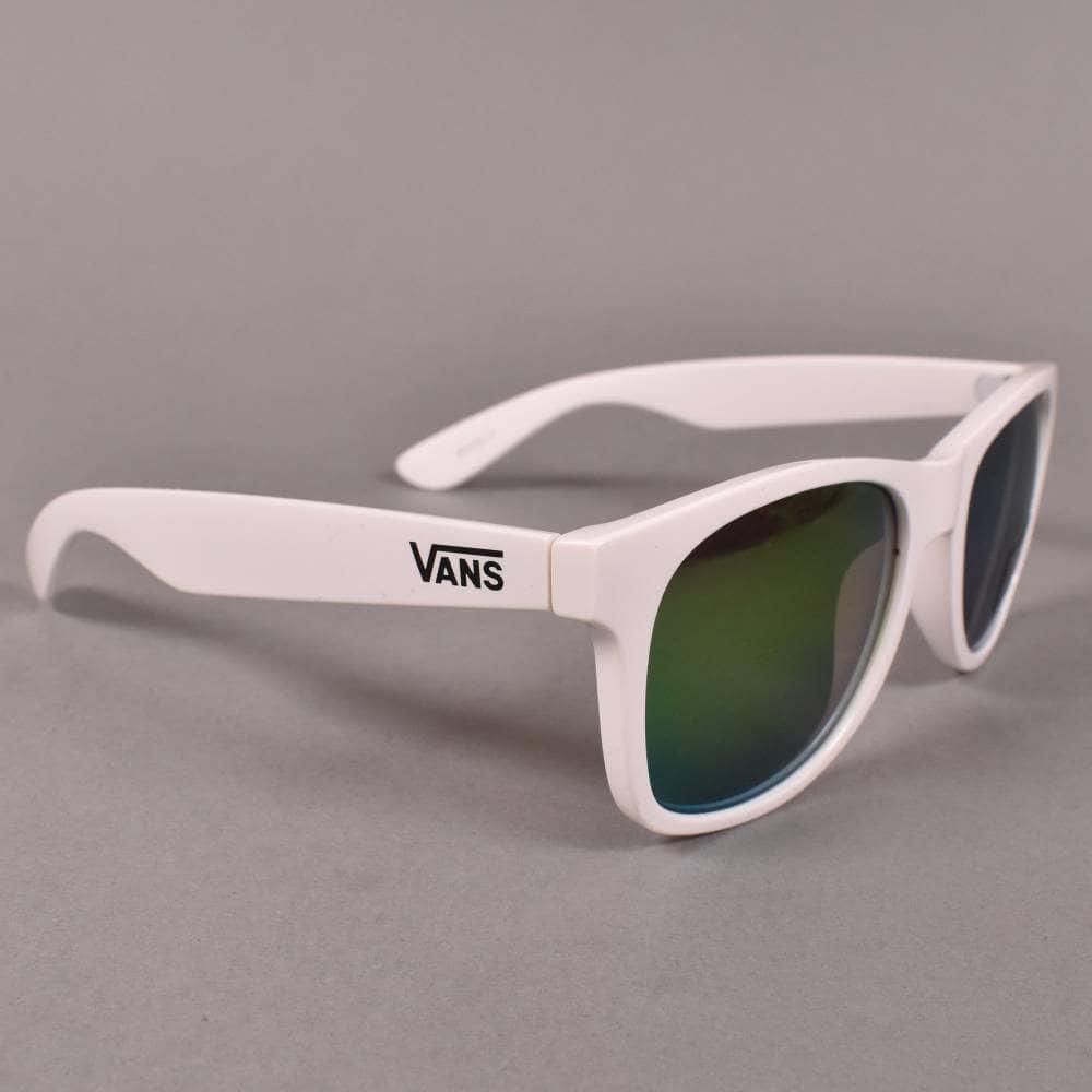 35d6585c133 Vans Spicoli 4 Sunglasses - White Lapis BLue