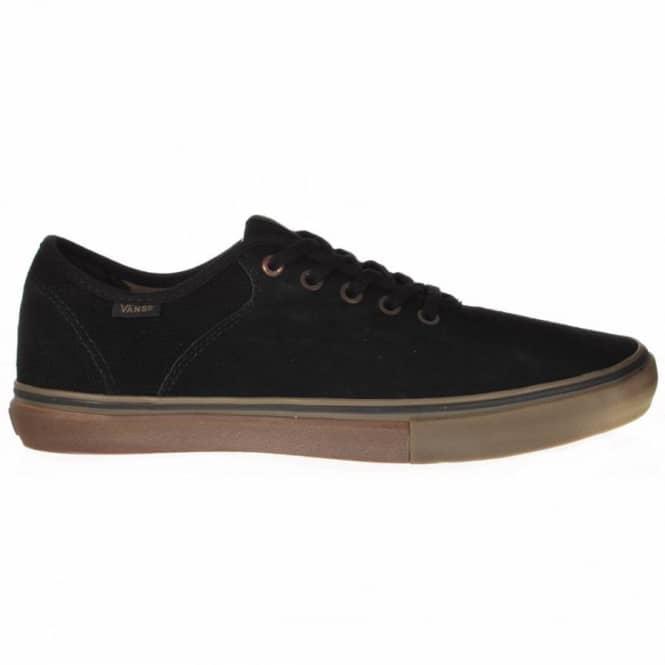 199f681979 Vans Stage 4 Low Andrew Allen Black Gum Skate Shoes - Mens Skate ...