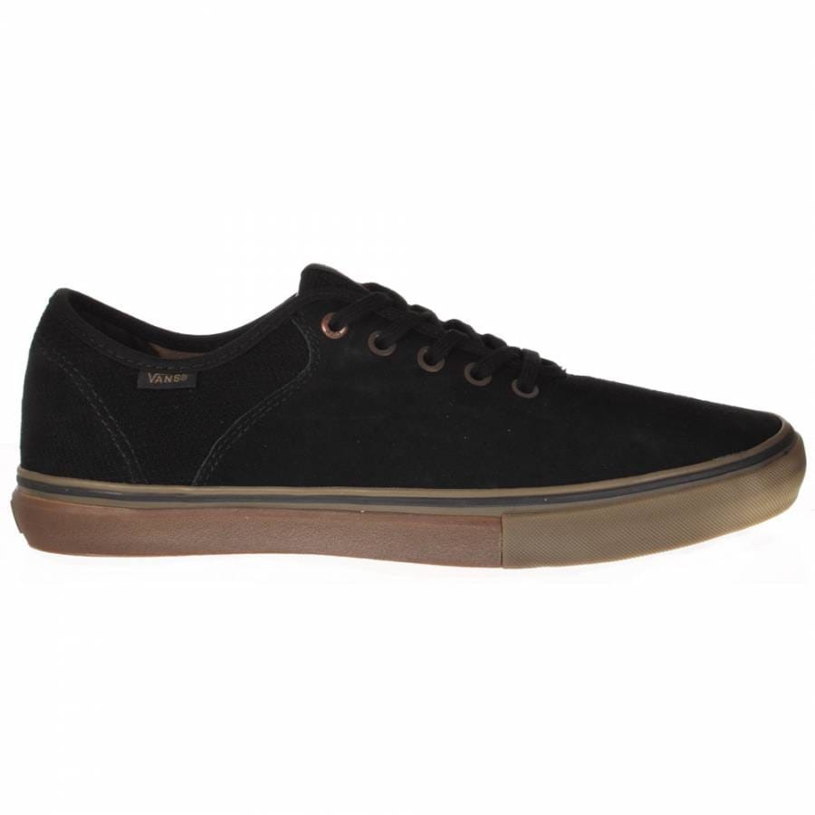 vans vans stage 4 low andrew allen black gum skate shoes
