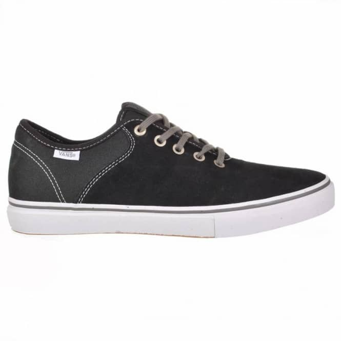 Vans Vans Stage 4 Low Skate Shoes - Chris Pfanner Black/White/Charcoal