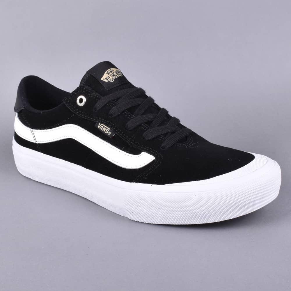 f300c1fbf2642e Vans Style 112 Pro Skate Shoes - Black Black White - SKATE SHOES ...