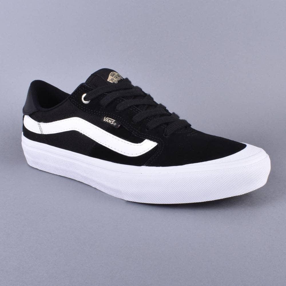 aeccb7b83c7d Vans Style 112 Pro Skate Shoes - Black White Khaki - SKATE SHOES ...