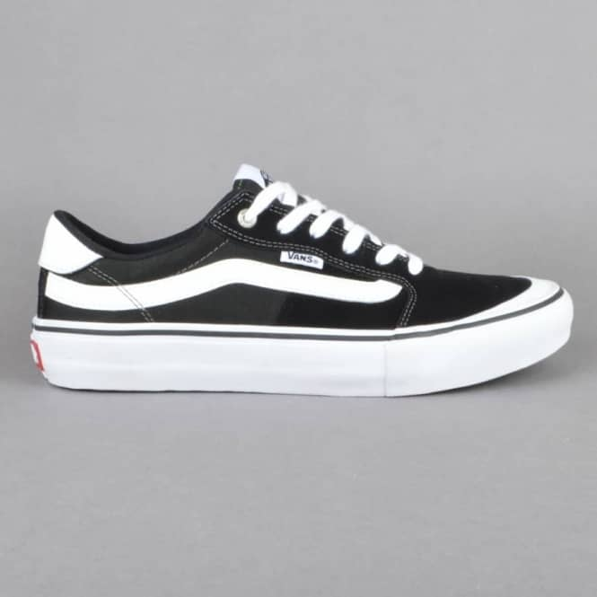 f15512b9636d Vans Style 112 Pro Skate Shoes - Black White - SKATE SHOES from ...