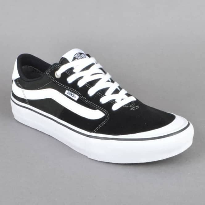 f1742341ce Vans Style 112 Pro Skate Shoes - Black White - SKATE SHOES from ...