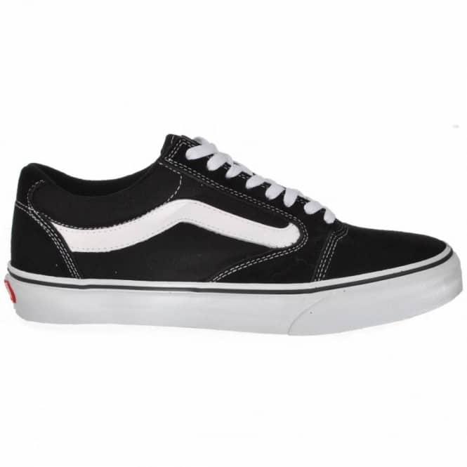 3a2cd0edc2 Vans TNT 5 Skate Shoes - Black White - Mens Skate Shoes from Native ...