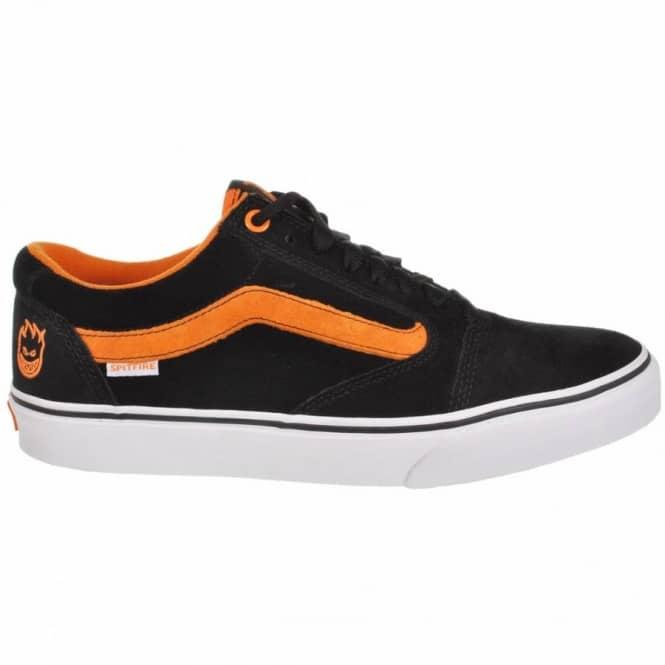 Orange And Black Skate Shoes