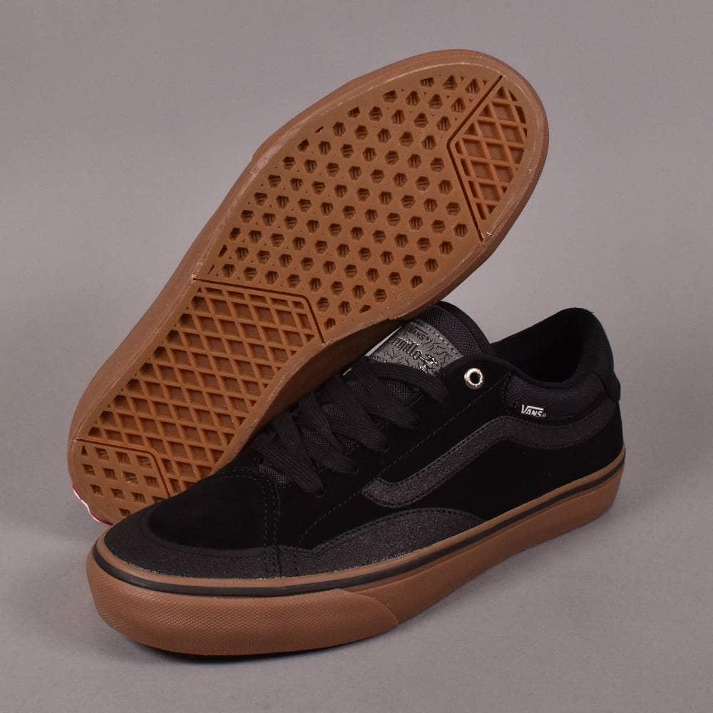 Vans TNT Advanced Prototype Shoes Black Gum | Flatspot
