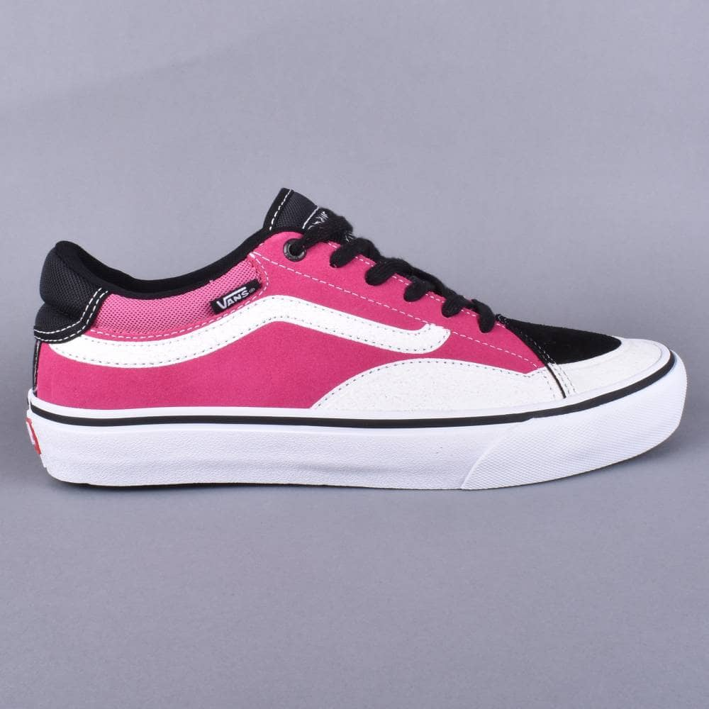 bc20c4ab9b24e0 Vans TNT Advanced Prototype Skate Shoes -Black Magenta White - SKATE ...