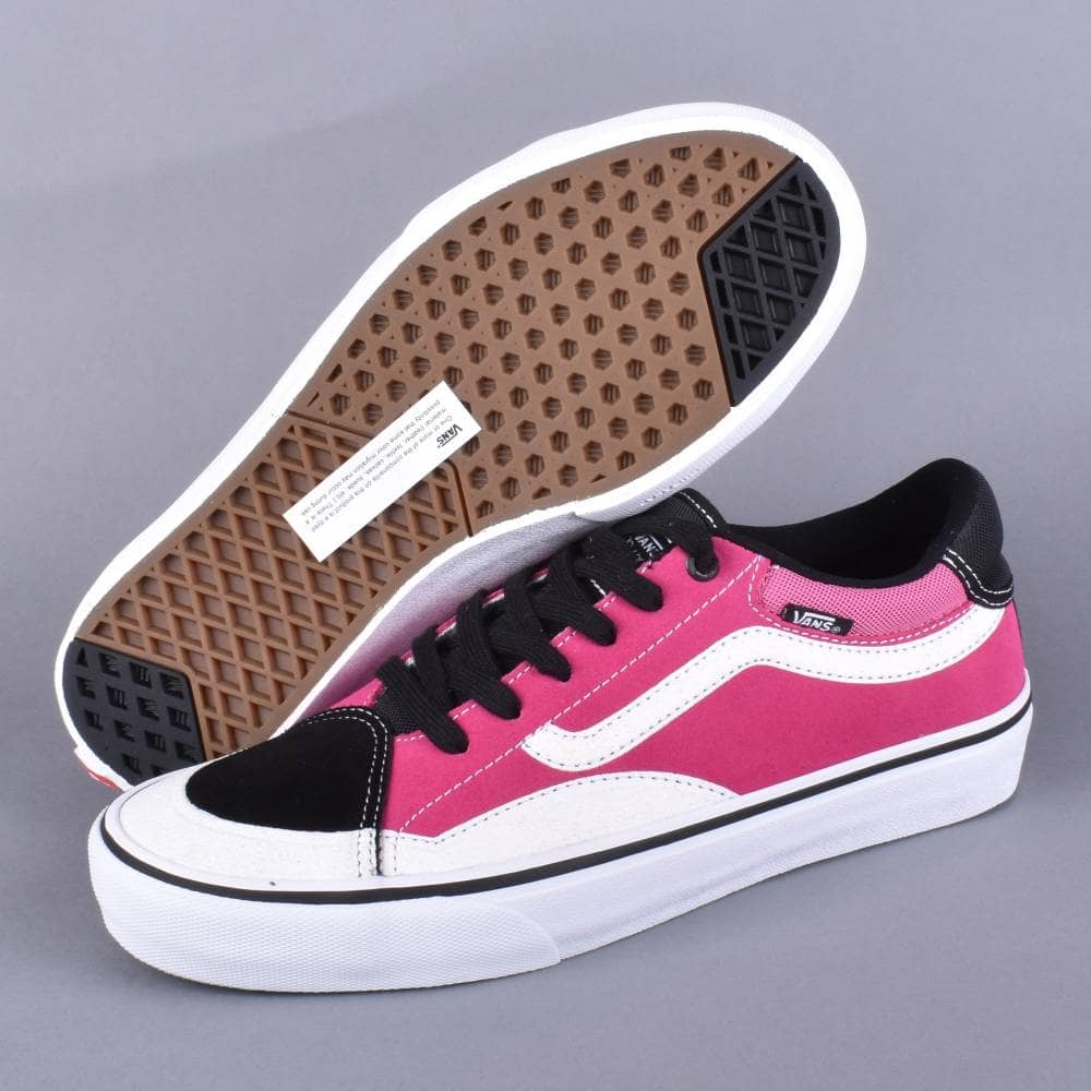 4ea10bff4a0102 Vans TNT Advanced Prototype Skate Shoes -Black Magenta White - SKATE ...