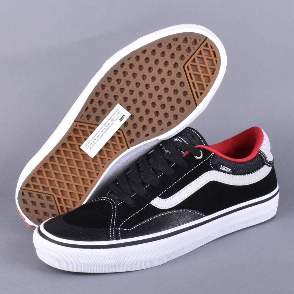 TNT Advanced Prototype Skate Shoes BlackWhiteRed