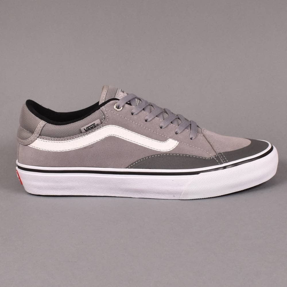 76f5bbcc684a Vans TNT Advanced Prototype Skate Shoes - Drizzle White - SKATE ...