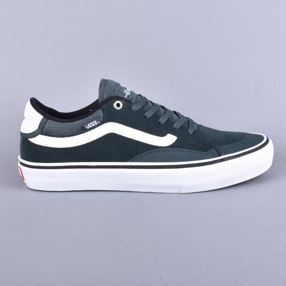 fc9ef52ca173 Vans TNT Advanced Prototype Skate Shoes - (Mesh) Darkest Spruce True ...