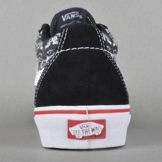 db77d784cd8 Vans TNT SG Anti Hero Skate Shoes - Black Trujillo - SKATE SHOES ...