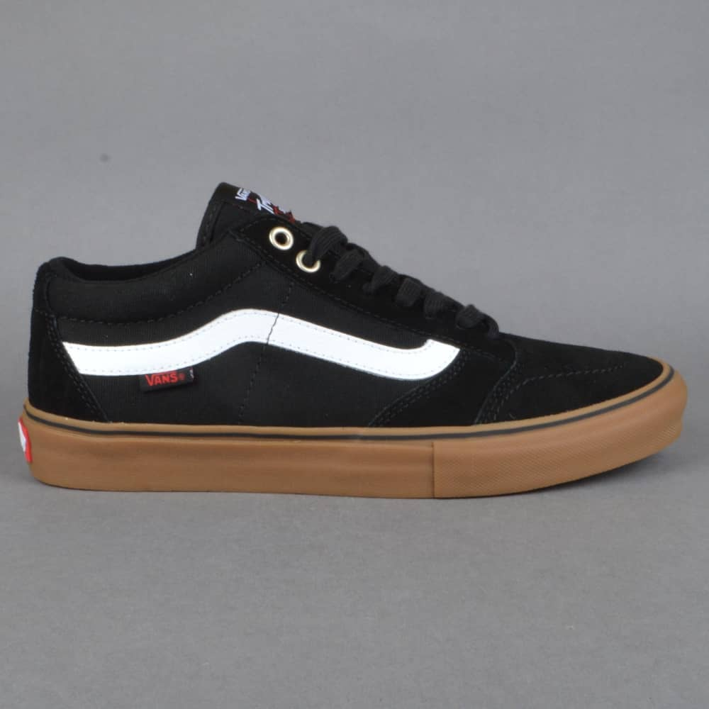 27dc99b02e Vans TNT SG Skate Shoes - Black White Gum - SKATE SHOES from Native ...