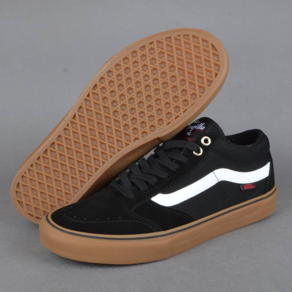 4c3a265b91 Vans TNT SG Skate Shoes - Black White Gum - SKATE SHOES from Native ...