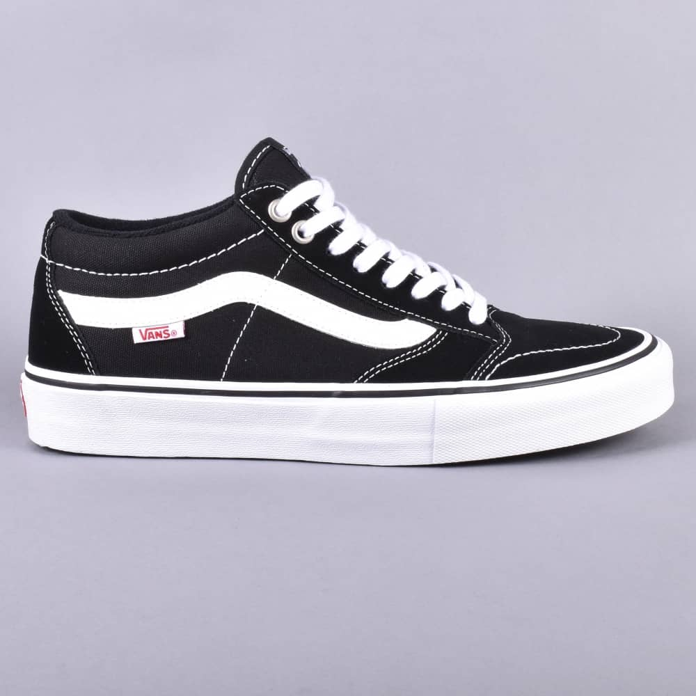 2d0729faa3a823 Vans TNT SG Skate Shoes - Black White - SKATE SHOES from Native ...