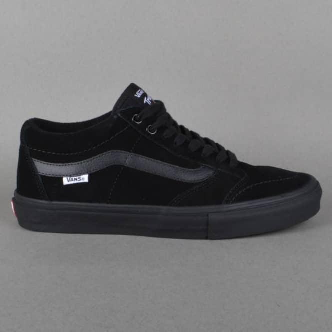 63651305a863 Vans TNT SG Skate Shoes - Blackout - SKATE SHOES from Native Skate ...