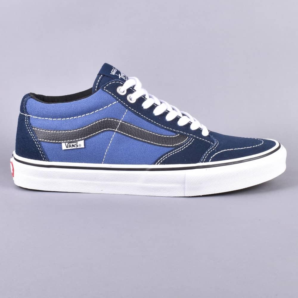 eea7cb62d9 Vans TNT SG Skate Shoes - Dress Blue STV Navy Black - SKATE SHOES ...