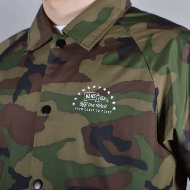 a2147ce675d7d1 Vans Torrey Coach Jacket - Camo - SKATE CLOTHING from Native Skate ...