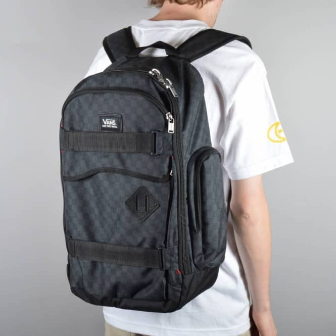 4420fee743 Vans Transient 2 Skate Backpack - Black Charcoal - Skate Backpacks ...