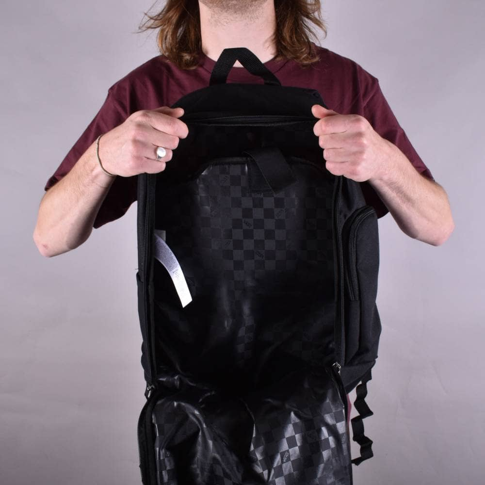 56af72d6dd Vans Transient III Skate Backpack - Black - ACCESSORIES from Native ...