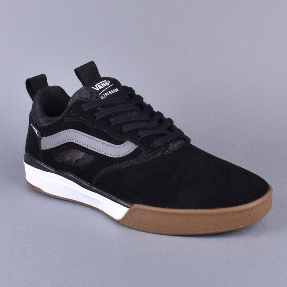 948d9b97a99 Vans Ultrarange Pro Skate Shoes - Black Gum White - SKATE SHOES from ...