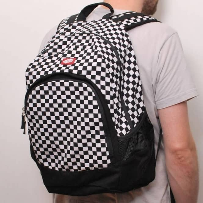 checkered vans bag