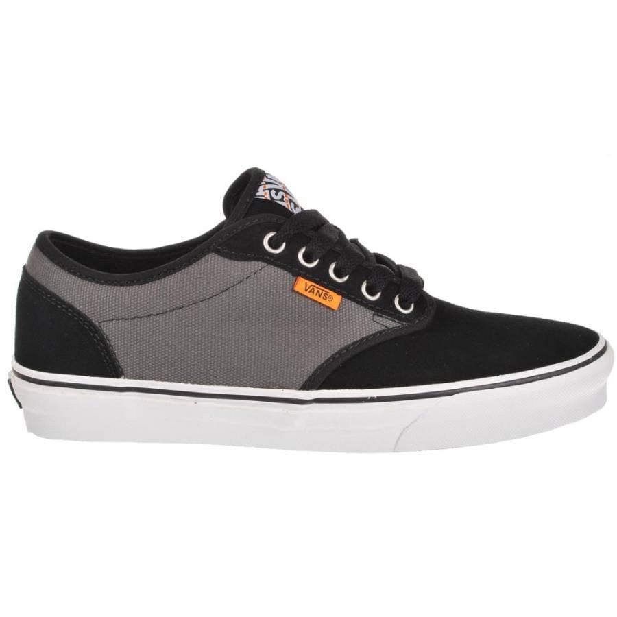 vans vans atwood black slate skate shoes vans from