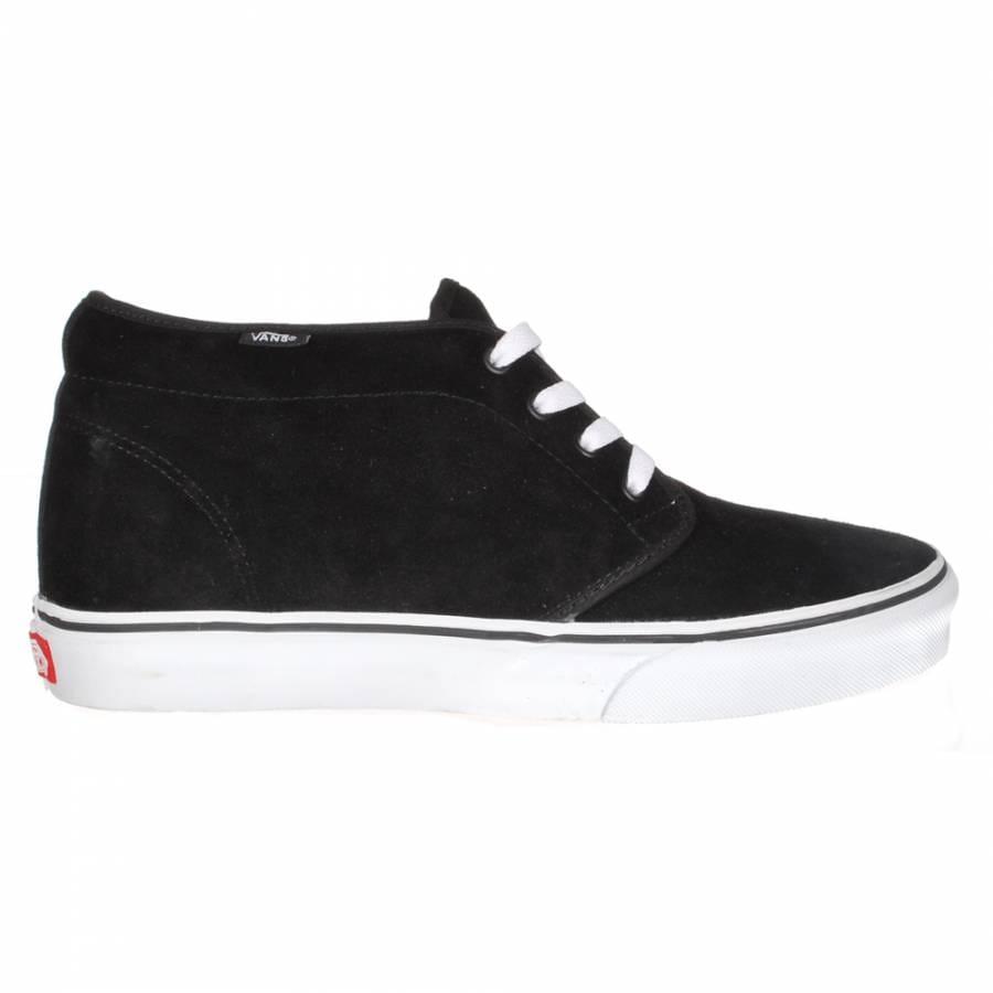 vans vans chukka boot skate shoe black white vans from