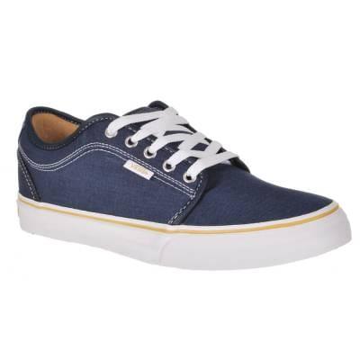vans vans chukka low navy washed canvas skate shoes vans