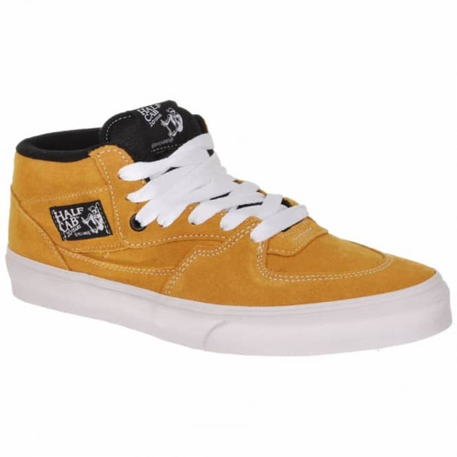 6caec58ae6 ... Vans Half Cab 20th Anniversary Butterscotch Skate Shoes ...
