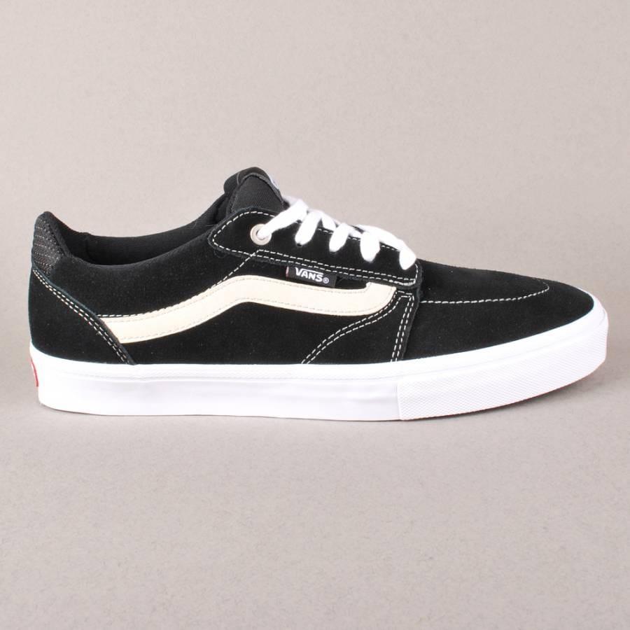 Vans Vans Lindero Skate Shoes - Black/White/Mid Grey ...
