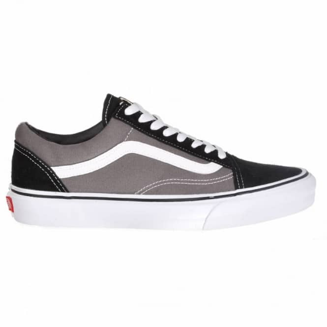 old skool vans grey