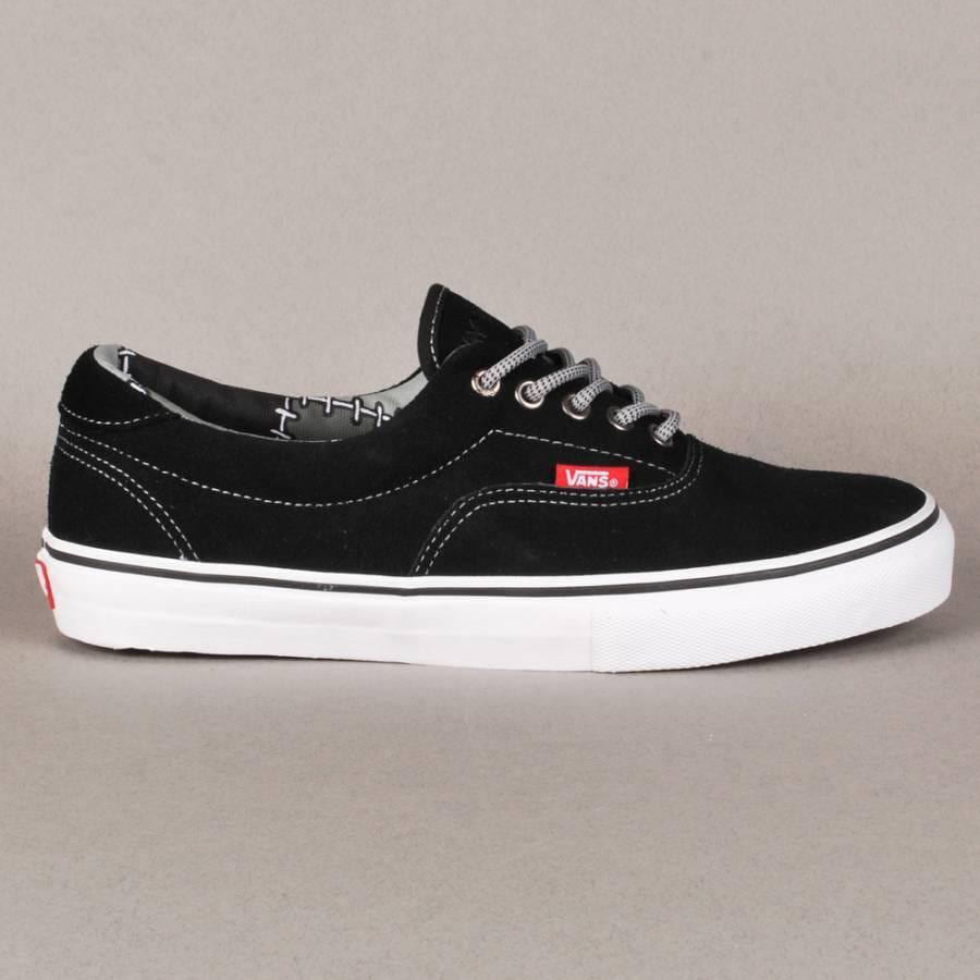 vans vans ray barbee era 46 pro skate shoes black vans. Black Bedroom Furniture Sets. Home Design Ideas
