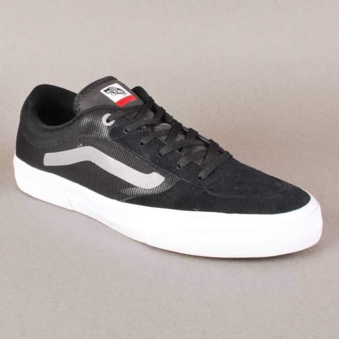 6d06ebd0923 Vans Rowley Pro Lite Skate Shoes - Black - Mens Skate Shoes from ...
