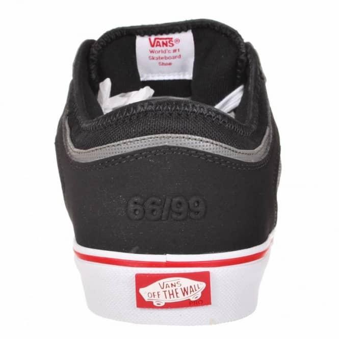 6a268bc94e1ac6 Vans Rowley Pro Skate Shoes - Black White Red - Mens Skate Shoes ...