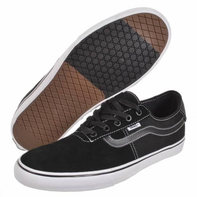 a0357b066b Vans Rowley SPV Black White Skate Shoes - Mens Skate Shoes from ...