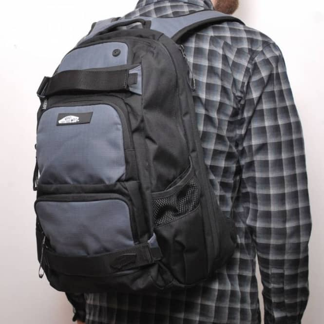 Vans Treflip Skate Backpack Black Castle Rock Skate
