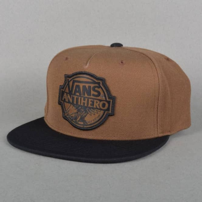 Vans X Antihero Snapback Cap - Dachshund Black - Caps from Native ... 8e7238b5f738
