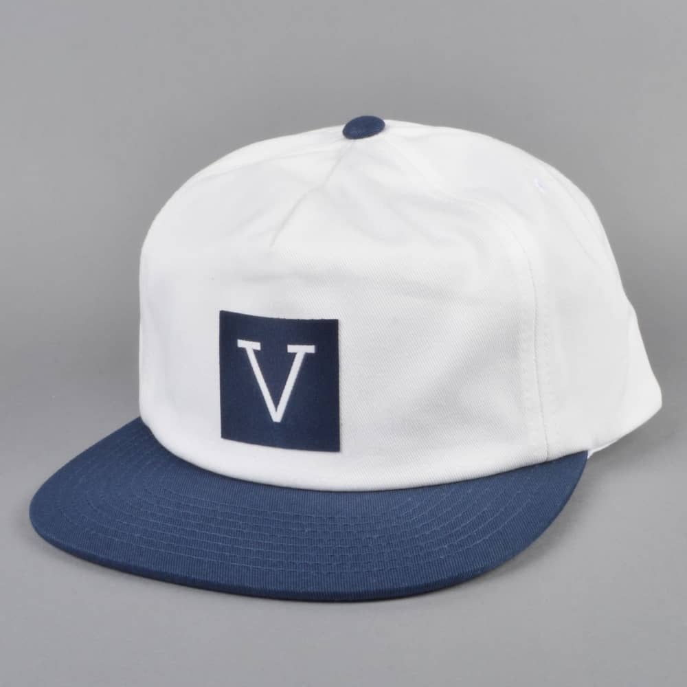 f88bb5543f7 Vans X Chima Unstructured Snapback Cap - Dress Blues White - SKATE ...