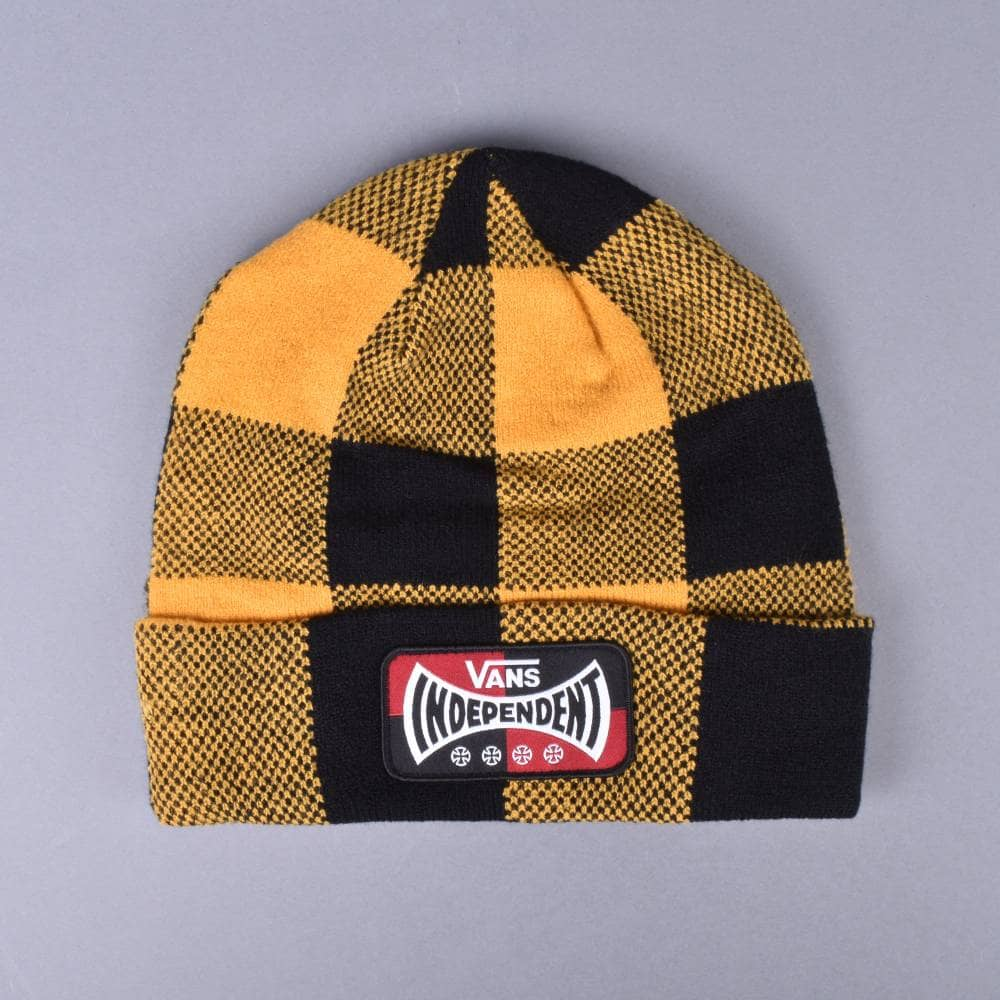 Vans x Independent Beanie - Sunflower - SKATE CLOTHING from Native ... e36efb25006