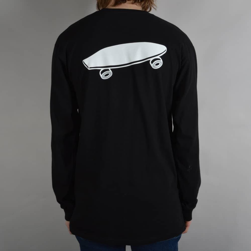 e407df0a4d Vans X Spitfire Long Sleeve Skate T-Shirt - Black - SKATE CLOTHING ...
